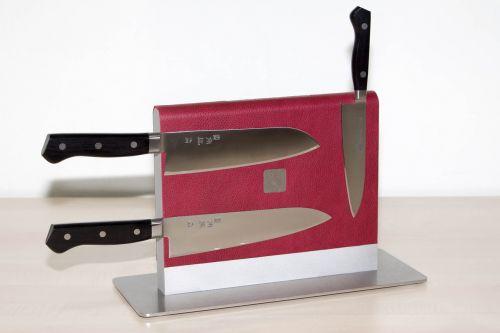 kitchen knife block storage