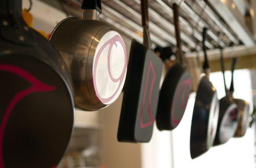 kitchen cooking utensils frying pan