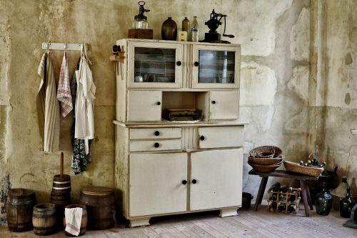 kitchen old historically