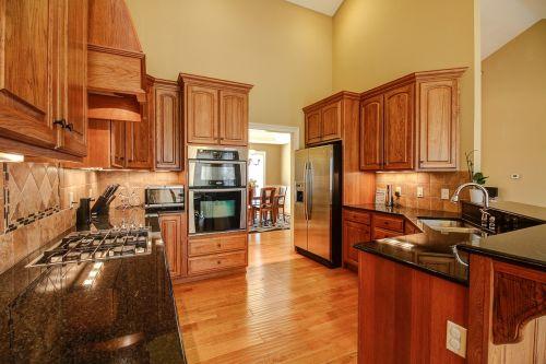 kitchen wood luxury