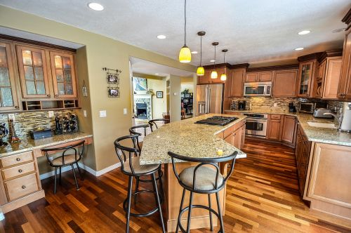 kitchen residential home