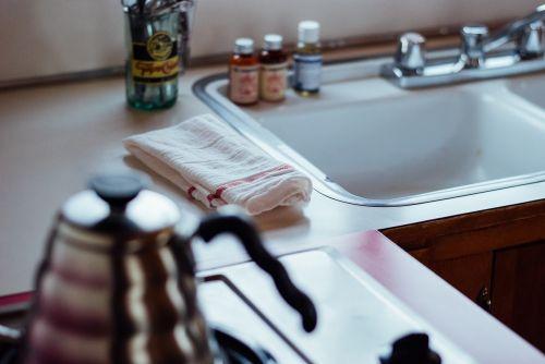 kitchen sink cloth