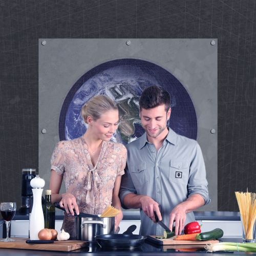 kitchen couple cooking
