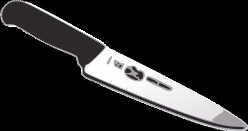 kitchen knife cut