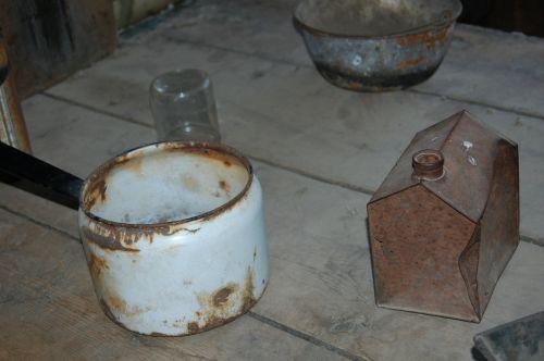 kitchen antiques pots