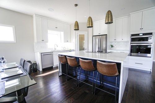 kitchen  bar stools  decor