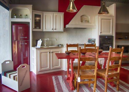 kitchen  masonry  white