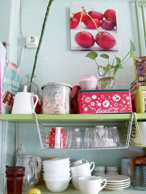 kitchen dishes cups