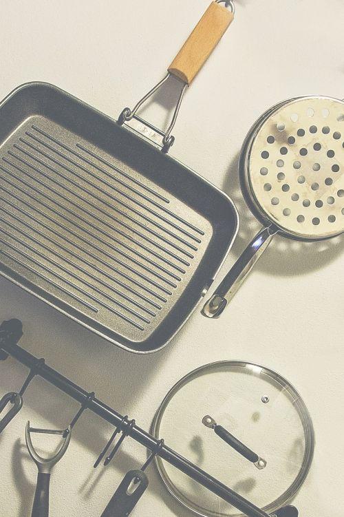 kitchen equipment pan