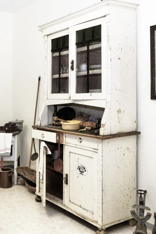 kitchen cabinet old historically