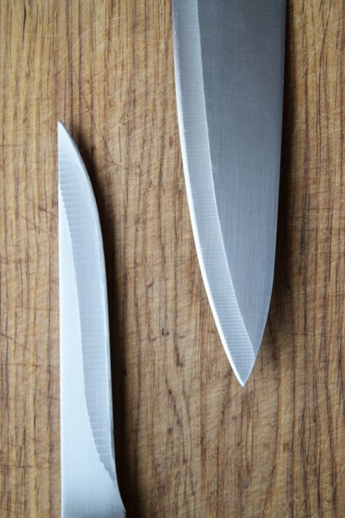 kitchen knife knives menu design