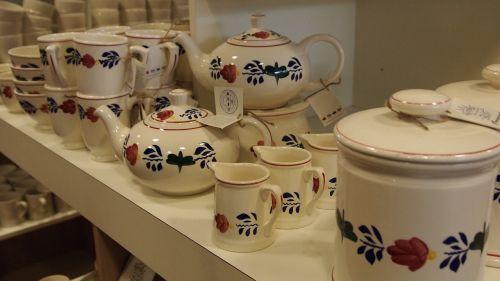 kitchenware and tableware tea pot milk jug