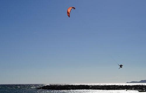 kite surfing surf water sports