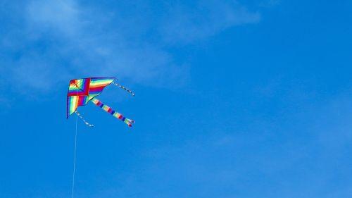 kite sky colors