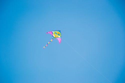 kite blow away rope