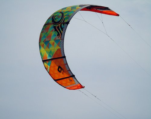 kite  surfer  surf
