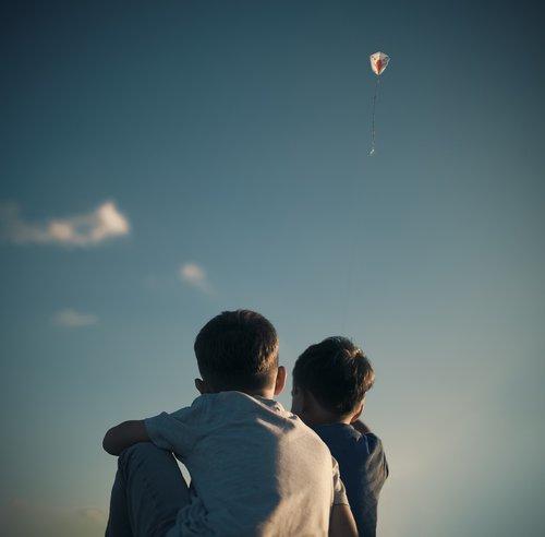 kite  children  child