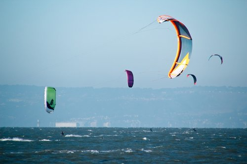kite  sailing  board