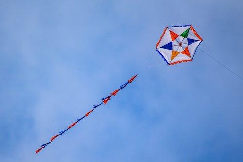 kite  fly  wind