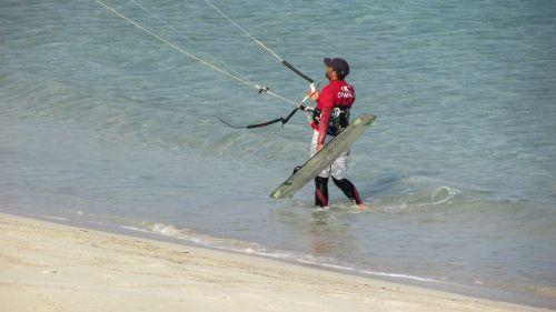kite surfer surfer sport