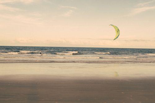 kite surfing beach kite