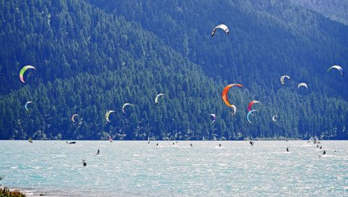 kite surfing wind surfing silva planner lake
