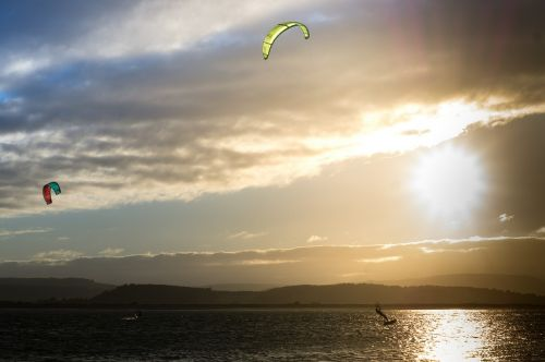 kite surfing kite exmouth