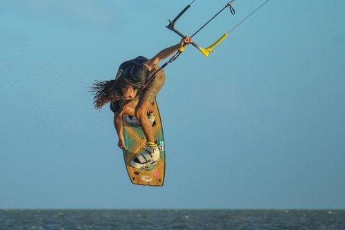 kitesurf  kiteboarding  sport