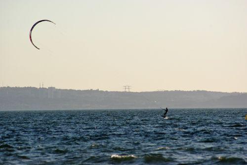 kitesurfing pond france