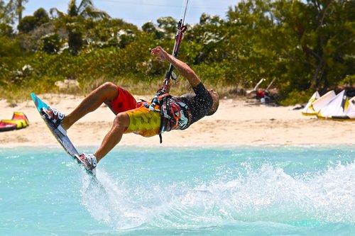 kitesurfing  kiteboarding  kite