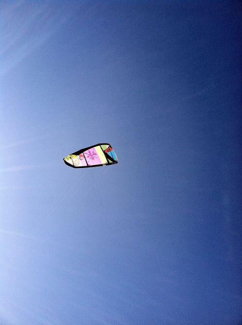 kitesurfing beach wind