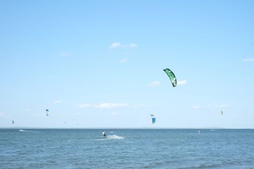 kiting beach firth