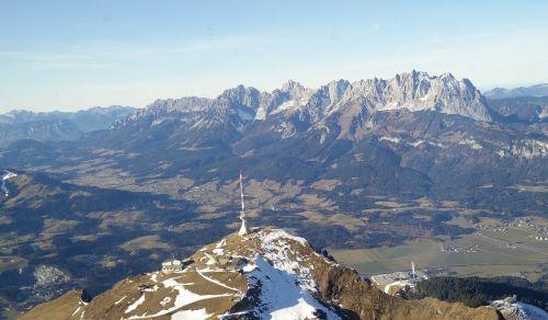 kitzbüheler horn kaiser mountains wilderkaiser