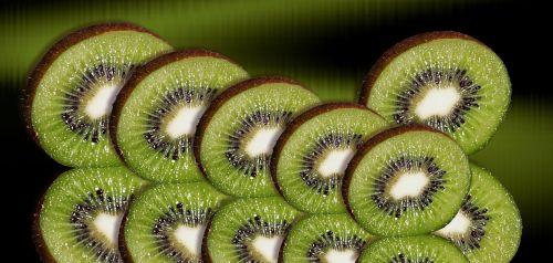 kiwi fruit kiwi slices