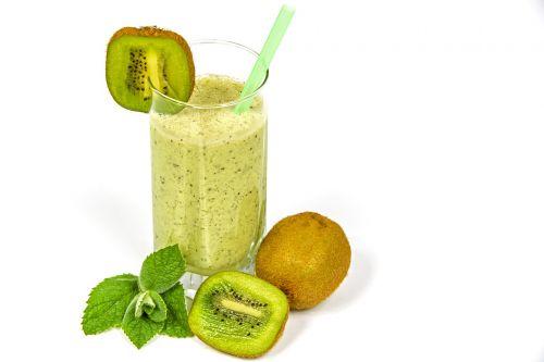 kiwi coctail kefir fruit
