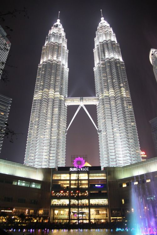 klcc twin tower city