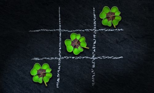 klee four leaf clover lucky clover