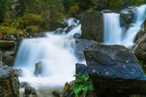 kleinwalsertal waterfall melköde
