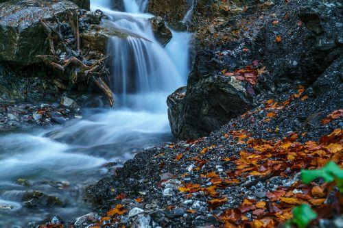 kleinwalsertal waterfall water