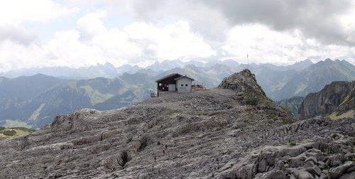 kleinwalsertal  alpine  ifen