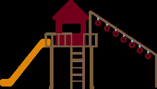klettergerüst slide children's playground