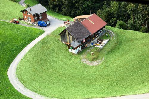 klewenalp mountain farm switzerland