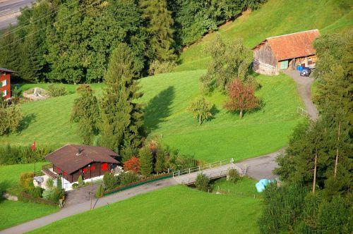 klewenalp mountain farm farm