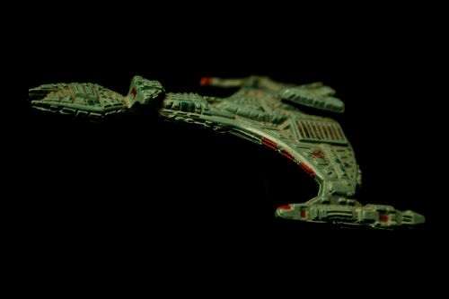 klingon battle cruiser toy