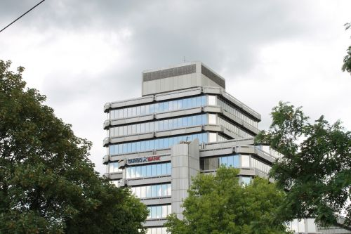 klöckner tower duisburg skyscraper