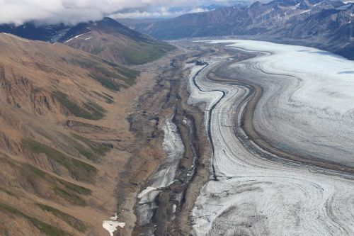 kluane national park glacier yukon