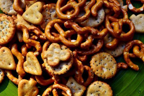 knabberzeug pastries salty snack