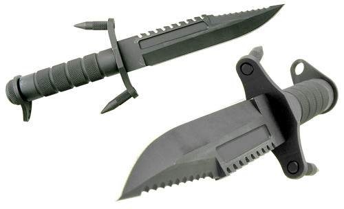 knife battle steel arms