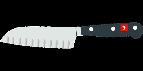 knife kitchen cut