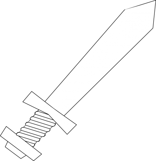 knife sword weapon